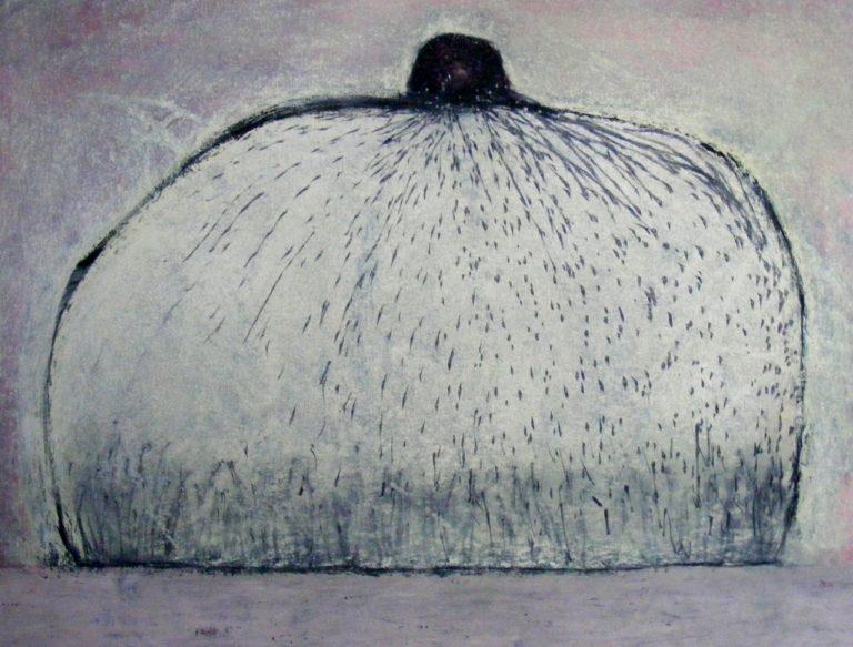o.T., Gouache und Pastell auf Papier, 29,7x42cm, 2012