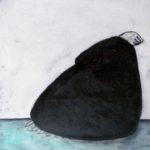 o.T., Mischtechnik auf Papier, 42x42 cm, 2013