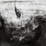 o.T., Tusche auf Papier, 59,4x42cm, 2014