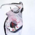 Narrentier, Eitempera auf Leinwand, 130x140cm, 2016