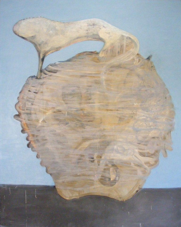 o.T., 120x150cm, Eitempera uf Leinwand, 2010
