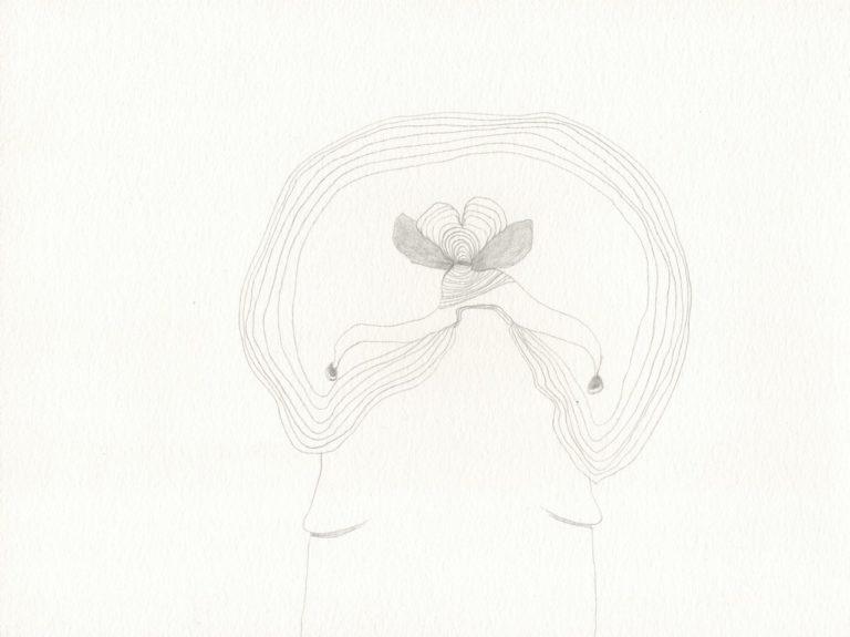 o.T., Bleistift auf Papier, 21x28,3cm, 2017